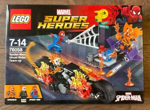 Lego 76058 Marvel Super Hero's - Spider-Man: Ghost Rider Team-Up - NewSealed.