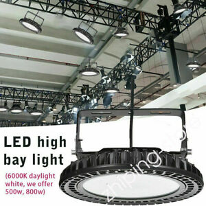 LED High Bay Light 500W/800W UFO Industrial Factory Warehouse Workship Lights ZD