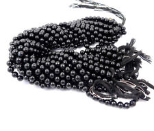 AAA Quality 100% Natural Gemstone Black Onyx  6 mm Round Beads 13 Inch 1 Strand