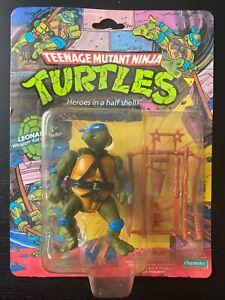TMNT Leonardo; 1988 Vintage 10-Back