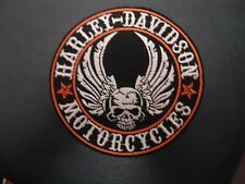 LIMITED EDITION..Biker Vest Patches Harley Davidson embroidered Motorcycles