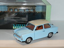 1:18 Vitesse Trabant 601 East German Two Stroke Microcar n USSR Cold War DDR blu