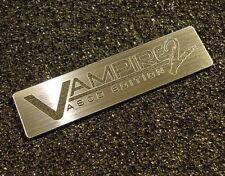 Commodore Amiga 600 VAMPIRE 2 Label / Logo / Sticker / Badge 49 x 13 mm [410c]