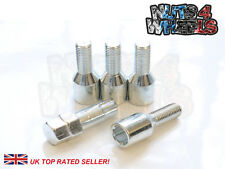 4 x Chrome Tuner Locking Wheel Bolts M12x1.25 Fits Alfa Romeo 164 GTV 156 147