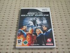 Fantastic FOUR Rise of the Silver Surfer per Nintendo Wii e Wii U * OVP *