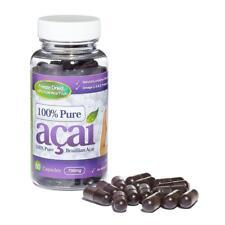 100% Pure Acai Berry 700mg 60 Cápsulas Pérdida De Peso Pastillas Evolution Slimming