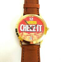 Cheez-It Made Exclusively for Sunshine by Fossil Wrist Watch Leather Band