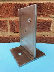STAINLESS STEEL T BLADE BOLT DOWN POST SUPPORT, TIMBER CONNECTOR/CONCEALED BASE