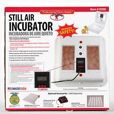 Little Giant Still Air Incubator.  Item # 9300.  Digital Control. Made in U.S.A.