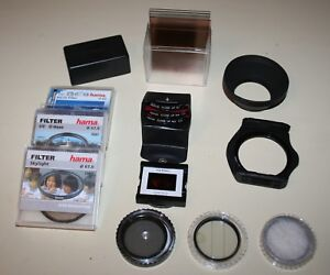 Cokin Hoya Bauer  Hama Filter Set Mixture of various lens attatchments 52/68 mm