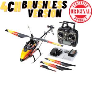 V913 BRUSHLESS Version 4CH Big RC Helicopter RTF 2.4G with Brushless Motor