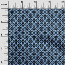 oneOone Floral Flame Stitch Printed Craft Fabric By The Yard - FI-1022A_1