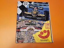 1992 Miller Genuine Draft 200 Indy Car CART Milwaukee Mile Racing Program