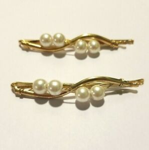 Nice Vintage Hair Jewelry Clips