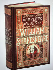 The Complete Works of William Shakespeare  Bonded Leather Collectible Edition