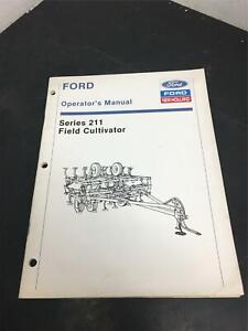 Ford operators manual series 211 field cultivator tractor attachment/New Holland