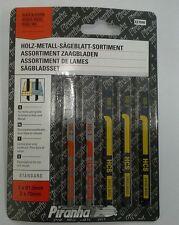 5 x Piranha Jigsaw Blades for Wood/Plastic - X27040
