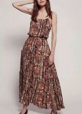 Free People Floral Maxi Dress Size XS