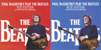 PAUL McCARTNEY 2titles Press 4xCD SET- PLAY THE BEATLES RED & BLUE EDITION *F/S