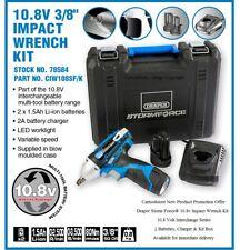 Draper Storm Force® 10.8 Volt Interchange 3/8in Drive Cordless Impact Wrench Kit