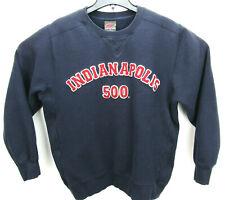 Vintage Indianapolis 500 Size Medium Crew Neck Sweatshirt Sewn On Logo