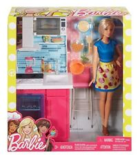 Barbie DVX54 Doll and Furniture Multi-colour