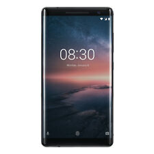 "Nokia 8 Sirocco 128GB Schwarz [13,5cm (5,3"") IPS Display, Android 7.1.1,"