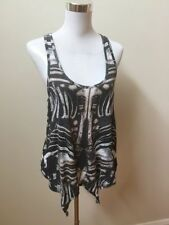 Women's Regular Animal Print Cotton Blend Tank, Cami Tops & Blouses