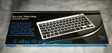 SMK-Link Electronics VP6640 SMK-Link Blu-Link Multi-Host Bluetooth Keyboard - Wi