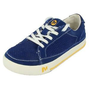 Boys Merrell Lace Up Trainers Skyjumer Twist Kids
