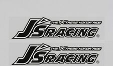 2x J's Racing Sticker 藝 Motorsport Extreme 3M Reflective Vinyl Decal Civic S2000