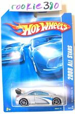 2008 Hot Wheels ALL STARS #47 ∞ HONDA CIVIC Si ∞ SILVER OH5's