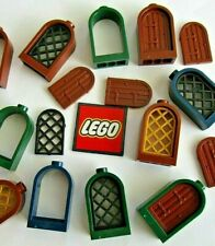 LEGO Window 1x2 x 2.667 with Rounded Top, Door or Lattice (Packs of 4) - 30044