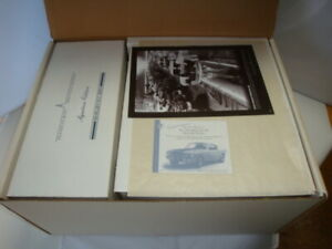 Mustang 1965 Shelby GT-350 Carroll Shelby Autographed 1/24 Franklin Mint