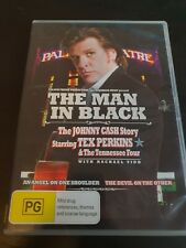 The Man In Black - The Johnny Cash Story with Tex Perkins region 4 DVD (music)