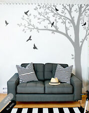 Large tree wall decal Nursery tree wall Mural Sticker decor wall mural 001
