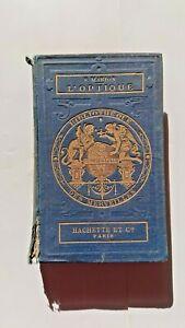 Bibliothèque des merveilles L'optique hachette 1869