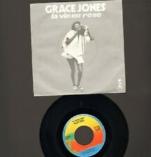 "GRACE JONES La Vie En Rose 7"" SINGLE I Need A Man 1977"