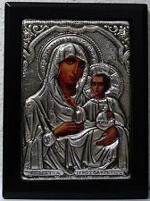 Maria Muttergottes v. Jerusalem Metall Oklad Ikone Icon Ikonen Icoon Ikona Icone