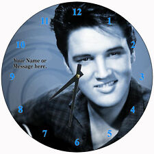 Personalized Elvis Presley Wall Clock