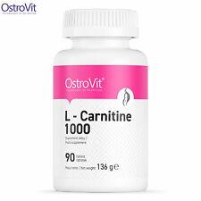 OstroVit L-Carnitine 1000 mg 90 Tablets - Slimming - Weight Loss - Fat Burner