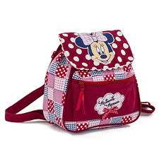 NEW OFFICIAL Disney Minnie Mouse Girls Kids Casual Backpack Rucksack School Bag