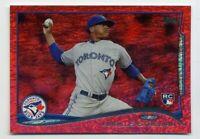 2014 Topps Update MARCUS STROMAN Rookie Card RC RED DIAMOND SPARKLE #US-197 Mets