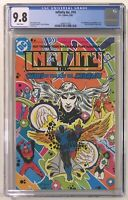 Infinity Inc #14 CGC 9.8 WP - 1st Todd McFarlane Published Cover DC Comics 1985