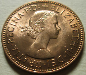 Free mailing to any location in the world British Penny Coin Brooch Dated 1962. Coin Brooch