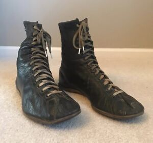 Vintage 1920s/1930s Wilson Leather Boxing Boots
