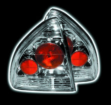HONDA PRELUDE 92 - 96 TAIL LIGHTS CHROME Aftermarket ,Performance, Replacement