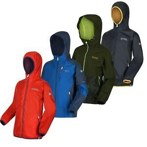 Regatta Boys Kids Lightweight Hooded Waterproof Rain Jacket Coat RRP £50