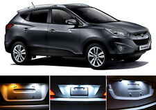 Xenon White License Plate / Tag 168 194 LED light bulb for Hyundai Tucson 2Pcs