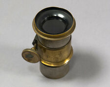 Antique Brass C.C Allen 4 inch (101mm) f/3.4 Lens  - Small Coverage